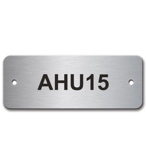Stainless Steel Name Plate 65mm x25mm