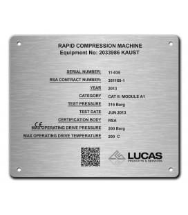 Stainless Steel Name Plate 180mm x 150mm