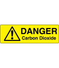 Danger Carbon Dioxide Label