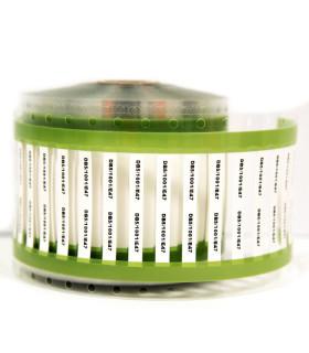 Printable White Shrink Tubes 25x3.2mm