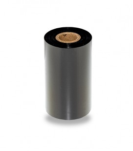 "Premium Black Resin Ribbon RTX 110mmx300m on 1"" Core"