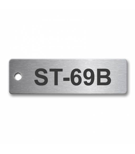 Stainless Steel Tag 50mm x 15mm