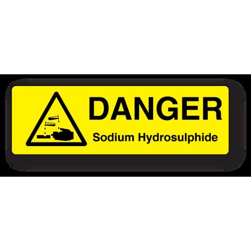 Danger Labels - Engraved Traffolyte