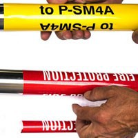 Snap-To Pipe Markers