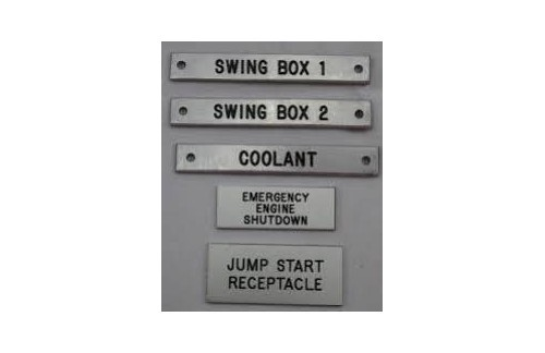 Custom Traffolyte Laser Engraved tags and their use in your company