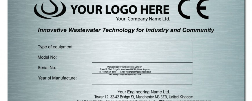 All You Need to Know about Our Laser Engraved Stainless Steel Name Plates